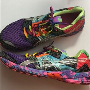 ASICS Women Running Shoes Size 13 colorful Running